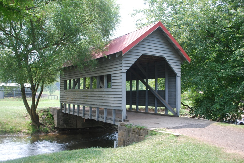 River valeey Ranch covered bridge