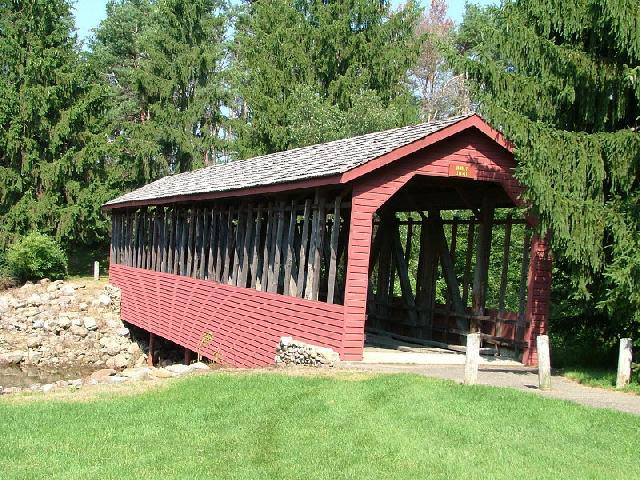 Harrity or Bucks covered bridge
