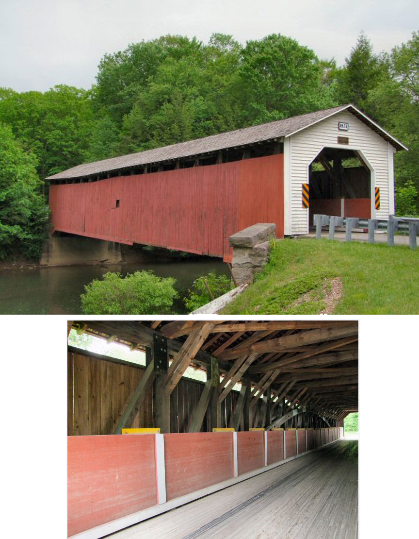 McGee's Mill covered bridge