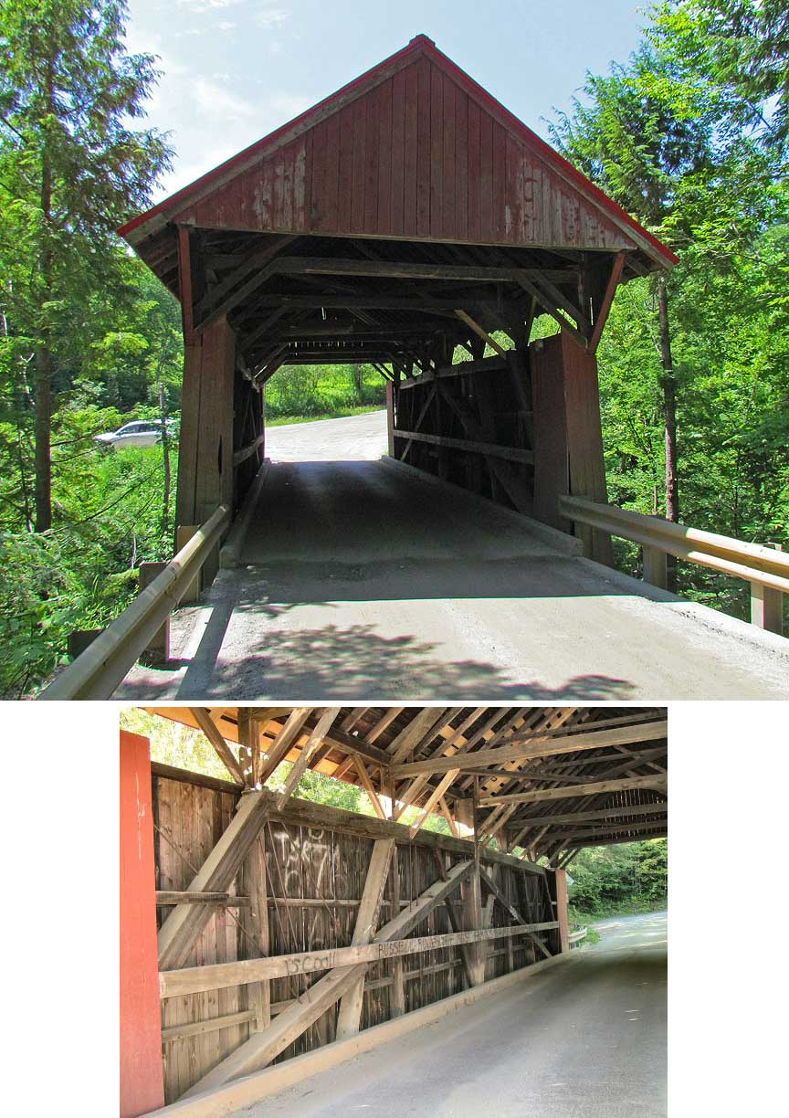 Red sterling bridge
